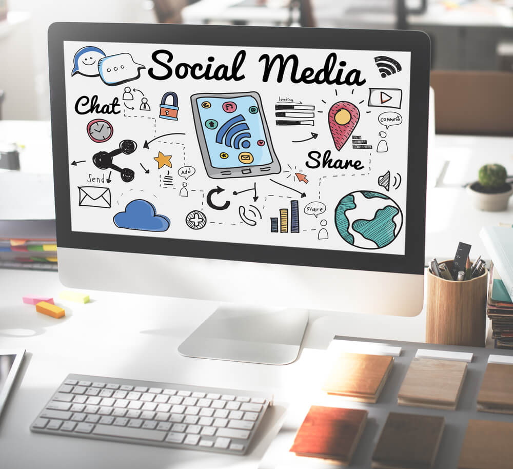 Social media platforms help manage accounts